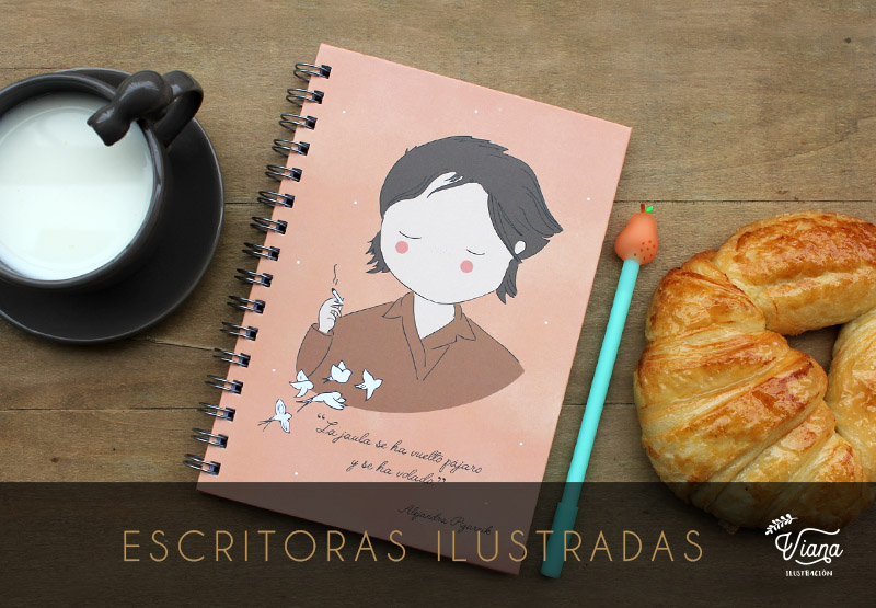 Nueva colección Escritoras Ilustradas