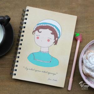 Libreta Jane Austen