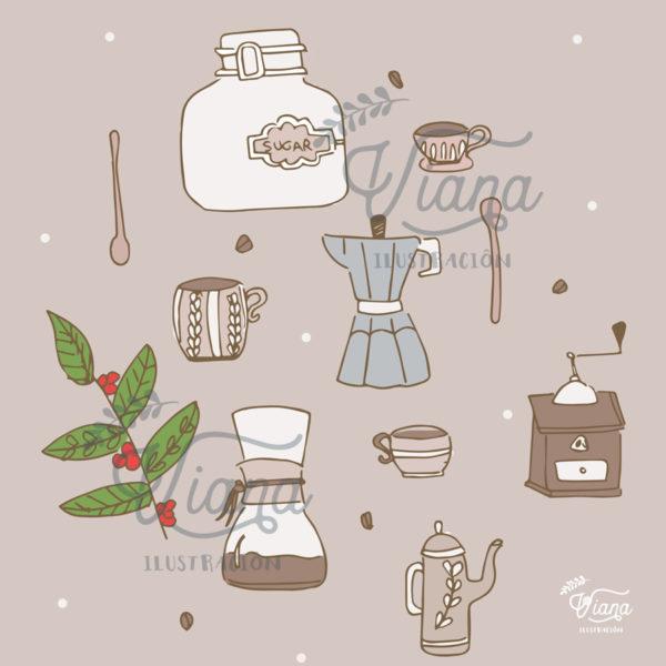 Detalle Café