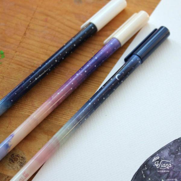 Bolígrafos Galaxy