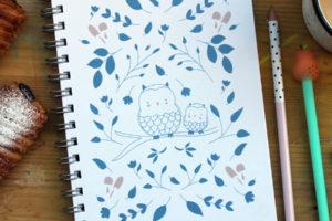 Libreta Owls
