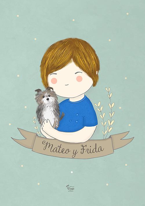 Mateo y Frida