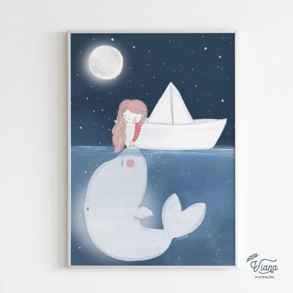 Ilustración Mar