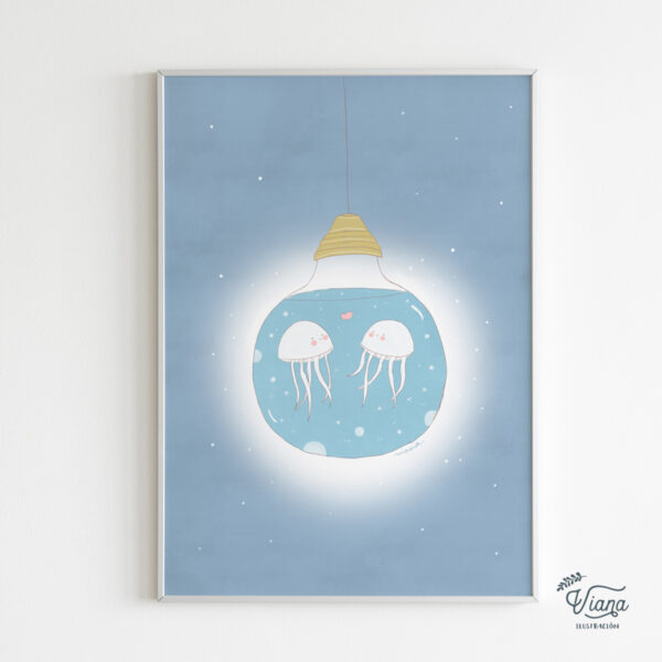 Ilustración Medusas