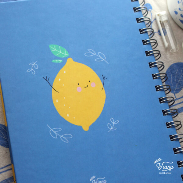 Libreta Limones