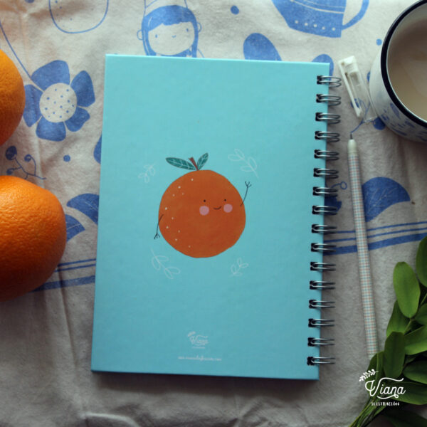 Libreta Naranjas