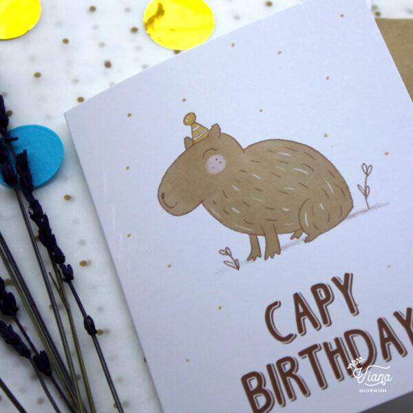 Capy Birthday